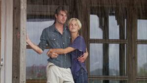 poznanici na kiši