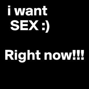 želim sex ODMAH