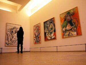 poseta umetničkoj galeriji