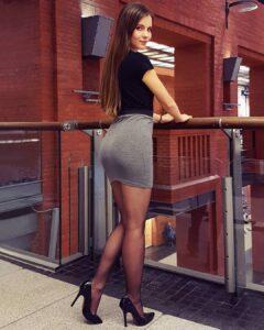 sexy profesorka u suknjici