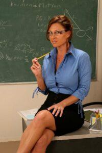 sinova sexy profesorka