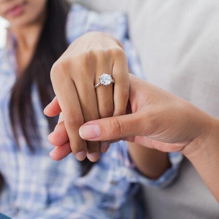 verenički prsten na ruci